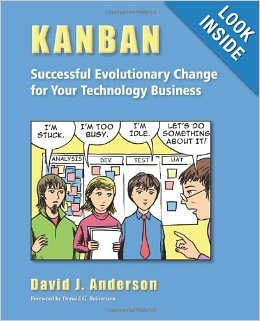kanban successful evolutionary change book cover