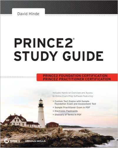 prince2 study guide book cover