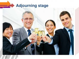 adjourning-stage