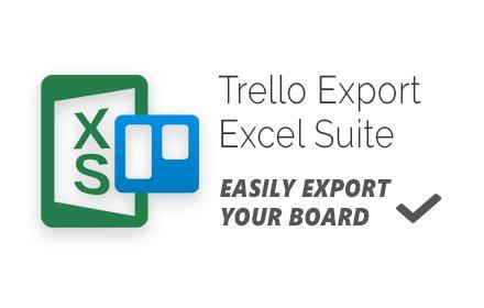 Trello Export Excel Suite Logo