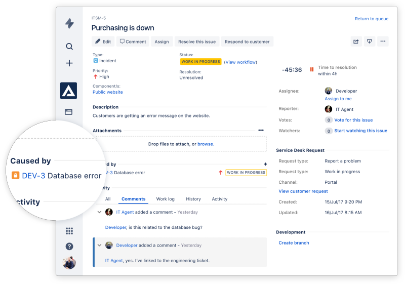 Jira Service Desk Software Review Overview Features